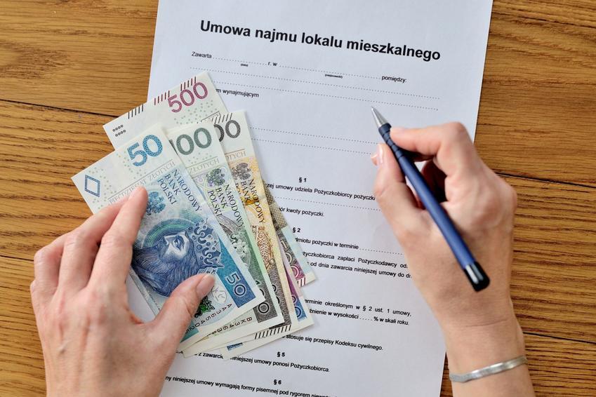 Umowa najmu mieszkania i gotówka, a także podatek od wynajmu mieszkania i jego wysokość