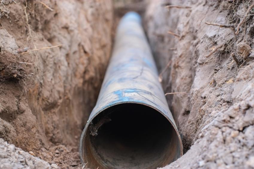Rura do wodociągu, a także projekt przyłącza wodociągowego, projekt przyłącza wody