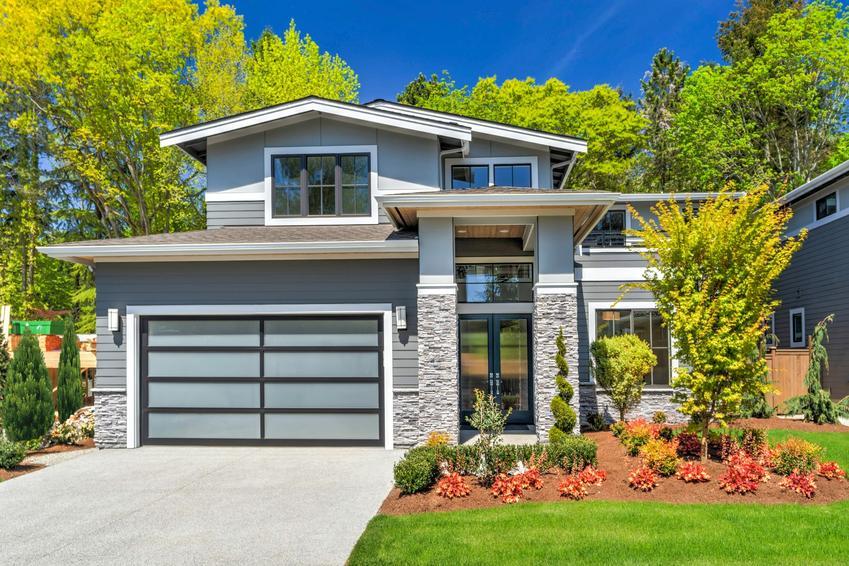 Dom z kamienia i z elewacją z kamienia, a także projekty domów z kamienia, koszt