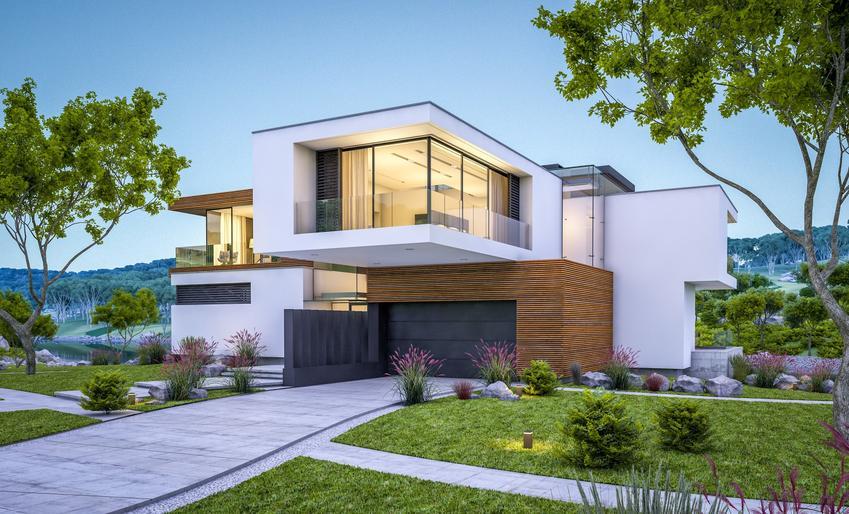 Dom jednorodzinny z ogrodem oraz powierzchnia biologicznie czynna, teren biologicznie czynny, ustawa