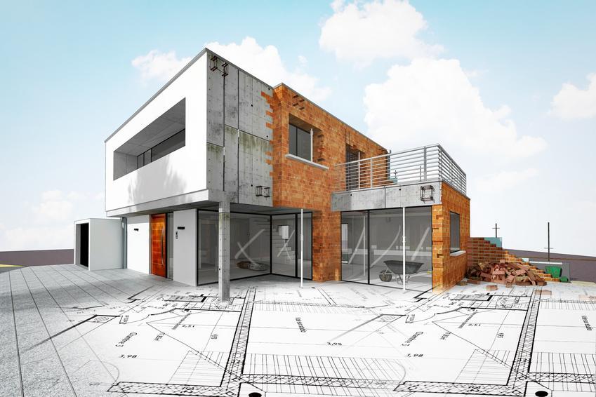 Wizualizacja domu, a także budowa domu jednorodzinnego, firmy budujące domy jednorodzinne