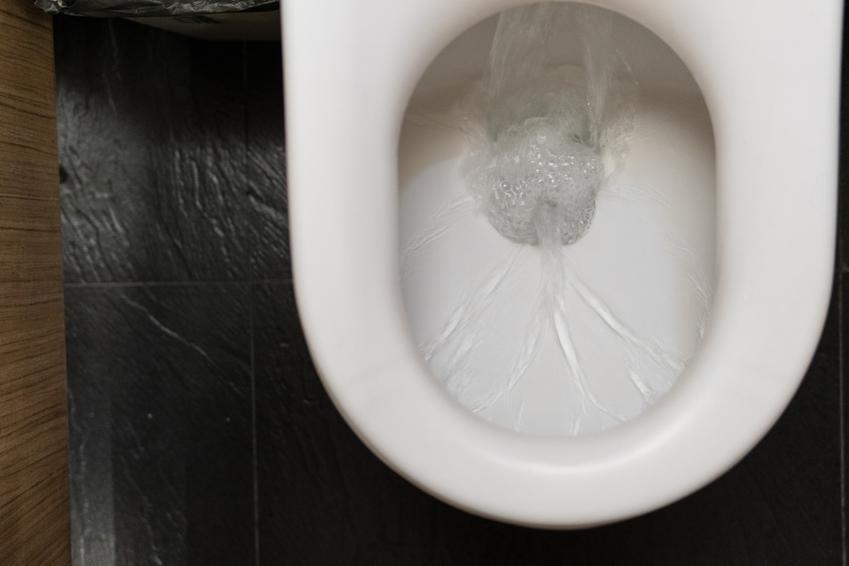 Woda w toalecie, a także domowe sposoby, jak odetkać kibel, jak przetkać kibel