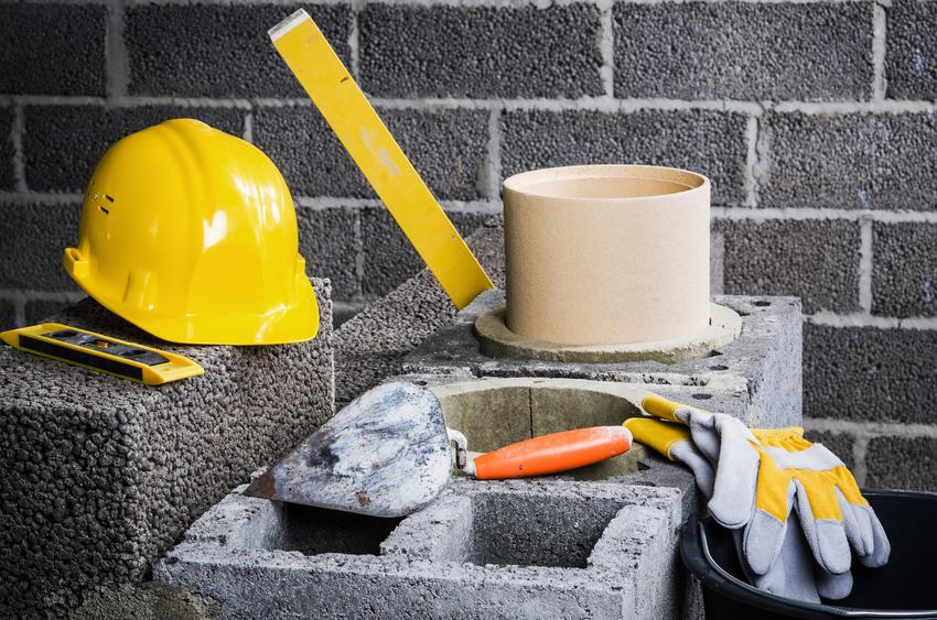 Komin podczas budowy, a także kominy ceramiczne, wkład ceramiczny do komina, cena