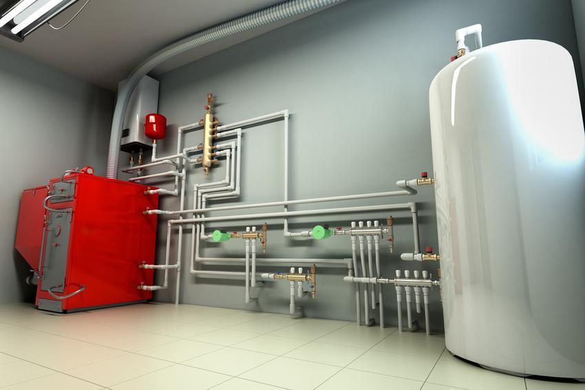 Piec w piwnicy, a także zasobnik cwu, czyli zasobnik ciepłej wody użytkowej i jego rodzaje