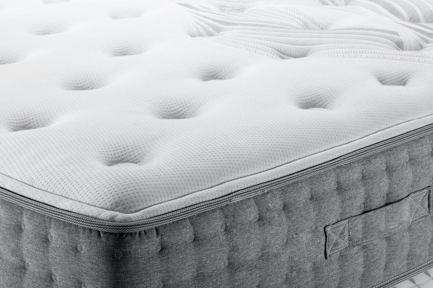 Zbliżenie na materacy do sypialni, a także szwedzkie materace hiding i  cennik