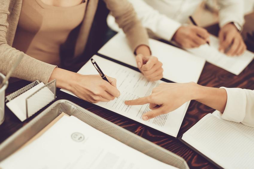Podpisywanie umowy, a także podatek od czynności cywilnoprawnych, deklaracja w sprawie podatku, wzór