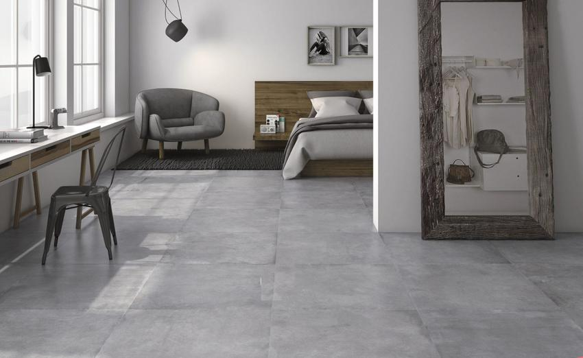 Imitacja betonu w płytkach ceramicznych - co wybrać?