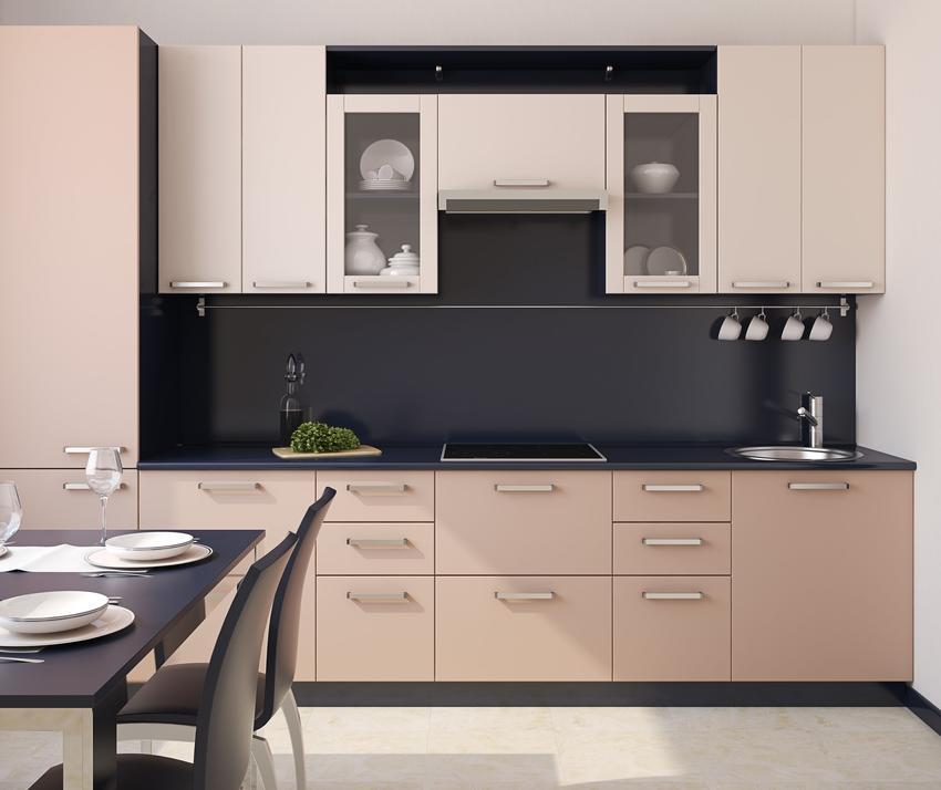Nowoczesna kuchnia biało-czarna, a także inne ciekawe projekty kuchni i aranżacja kuchni