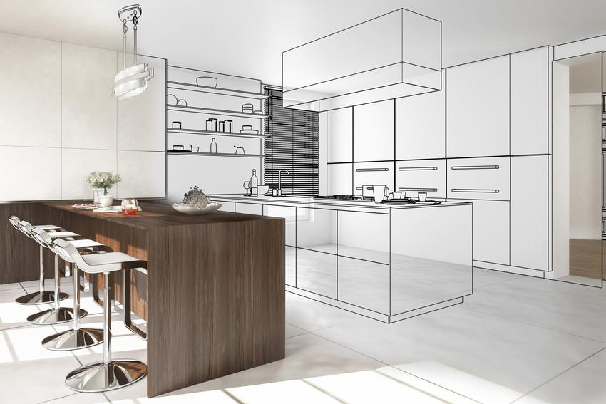Projekt kuchni nowoczesnej, a także inne ciekawe projekty kuchni i aranżacja kuchni