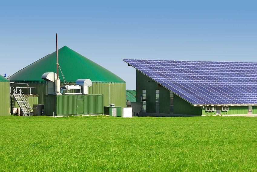 Biogaz w silosie przy budynku mieszkalnym, a także co to jest biogaz, wartość opałowa i podstawowe informacje