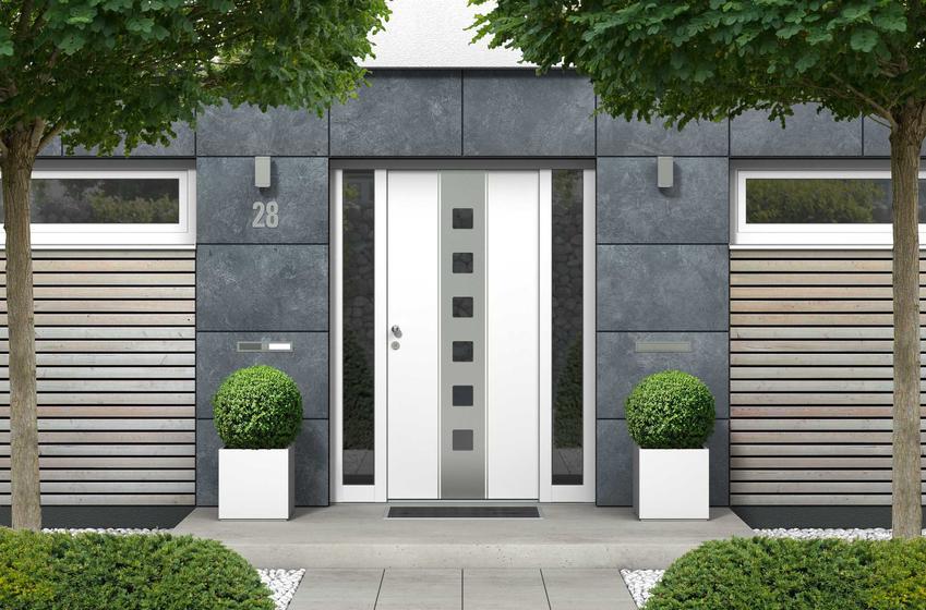 Drzwi wejściowe do domu jednorodzinnego w nowoczesnym stylu, czyli producenci, modele, najlepsze rozwiązania i ceny