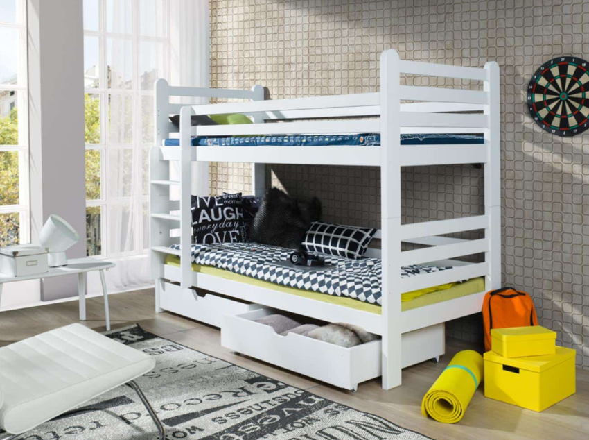 Łóżko piętrowe - dla kogo? Wady i zalety takiego rozwiązania
