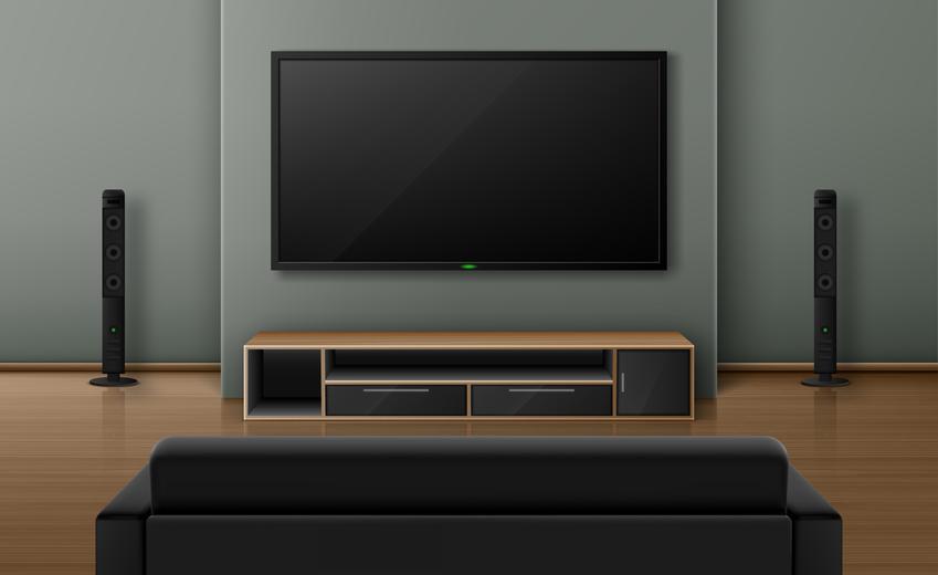 Możliwość zawieszenia telewizora na ścianie jest niezwykle przydatna. Jest to spora oszczędność miejsca, ponieważ telewizor nie stacjonuje już na szafce, a odpowiedni dobór uchwytu daje możliwość stworzenia ciekawej iluzji ekranu lewitującego w powietrzu
