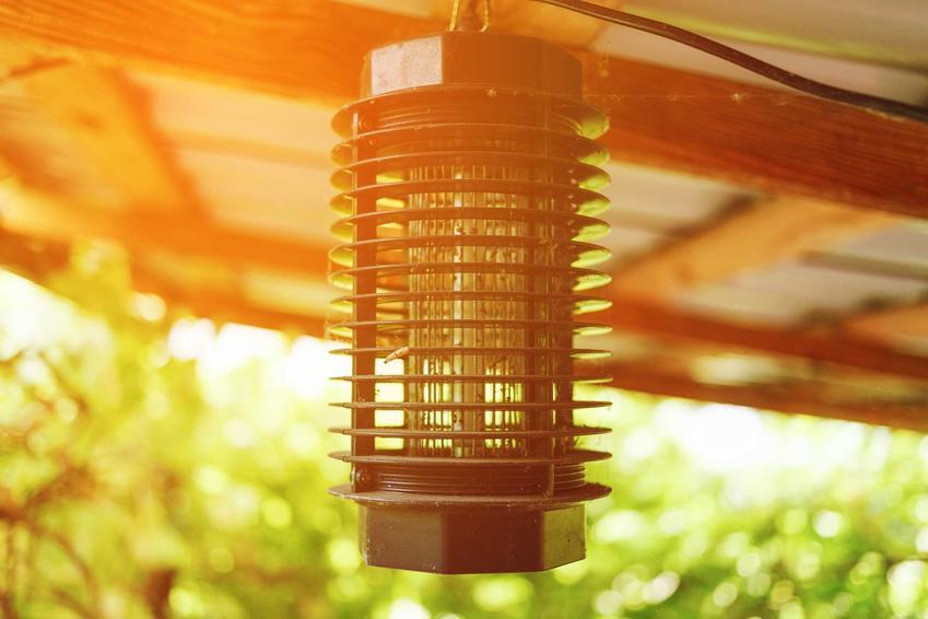 Lampa owadobójcza wisząca pod sufitem, a także rodzaje lapm, producenci, ceny, zastosowanie i działanie