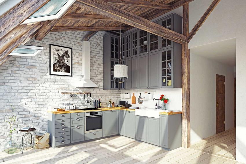 Drzwiczki ażurowe w szarych meblach kuchennych w nowoczesnym mieszkaniu, a także rodzaje, wymiary, sposób montażu oraz ceny