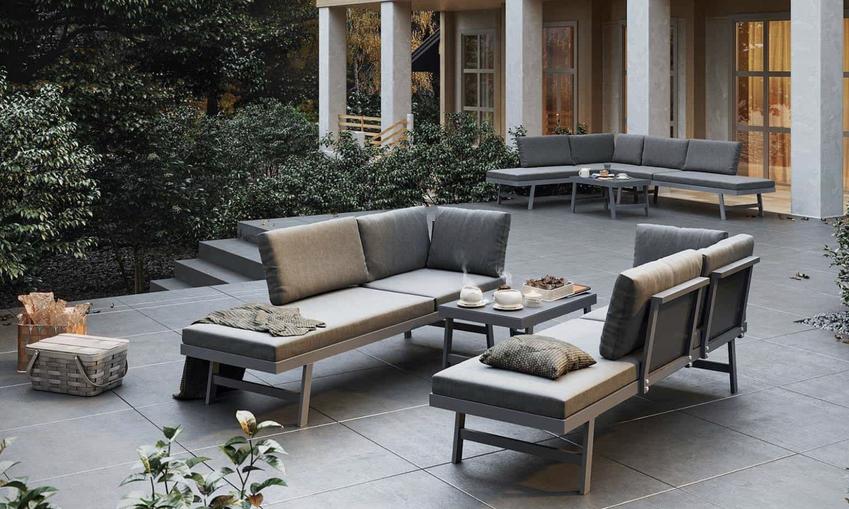 Nowoczesne zestawy mebli ogrodowych