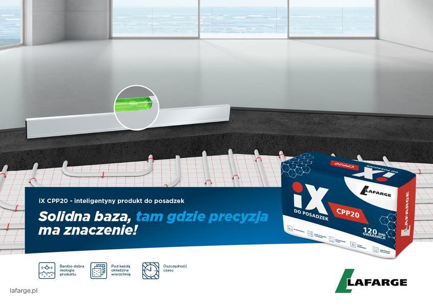 Innowacyjny produkt iX CPP20 do posadzek. Sprawdź, jak prawidłowo wybrać i wykonać posadzkę w domu