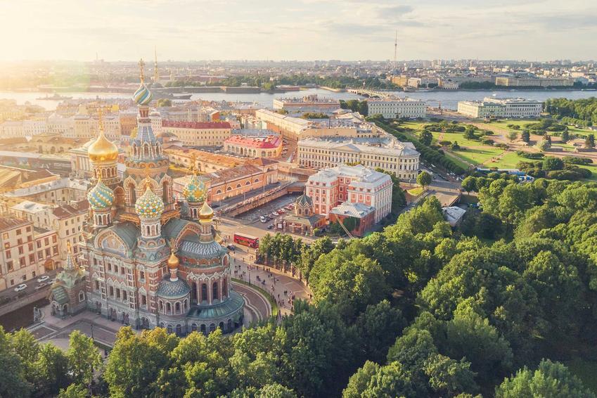 Sankt Petersburs, czyli miasto zaprojektowane od zera, czyli stolice, które powstały z niczego