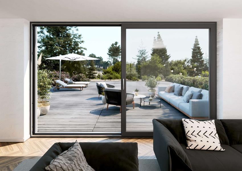 Okna i drzwi przesuwne SYNEGO SLIDE zapewniają nowoczesny design i wysoki komfort związany z codziennym użytkowaniem okien i drzwi tarasowych