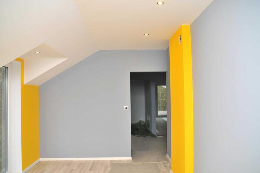 Pokój pomaowany na szaro i żółto, a także informacje, jak pomalować pokój krok po kroku, najlepsze porady oraz malowanie pokoju i informacje