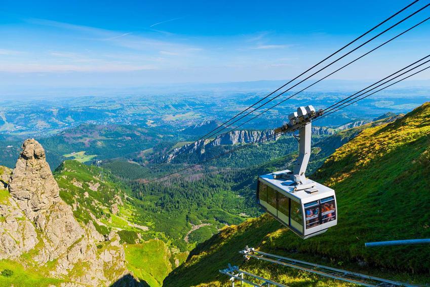 Kolejna na Kasprowy Wierch, a także dokładny cennik największych atrakcji w Tatrach, czyli ile kosztują różne atrakcje w Tatrach