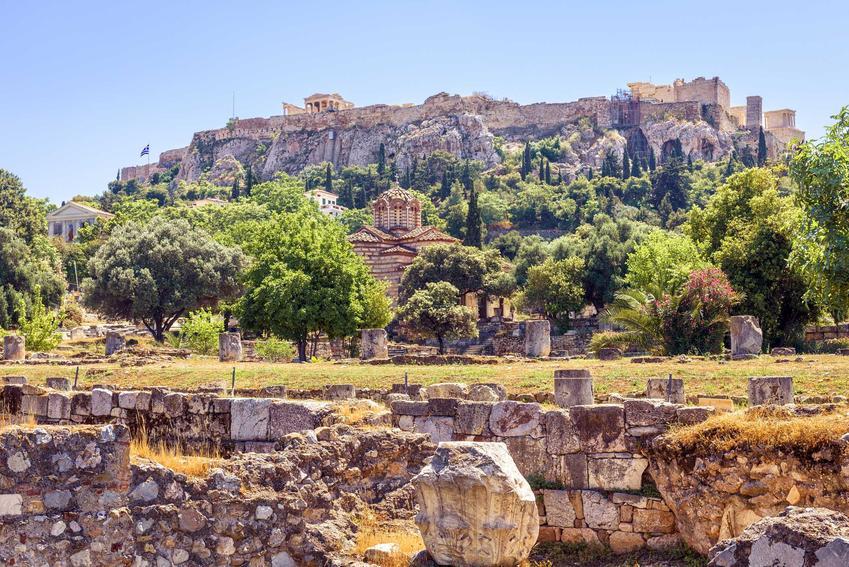 Stare miasto w Atenach, a także ceny w Grecji 2021 rok, czyli ile kosztują wakacje w Grecji