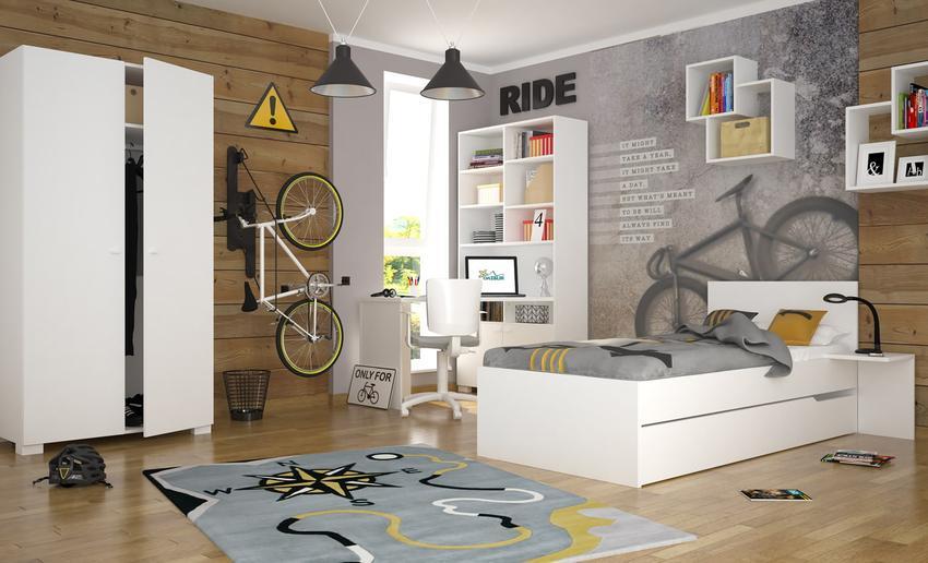 Meble młodzieżowe – praktyczne porady jak urządzić pokój dla nastolatka.