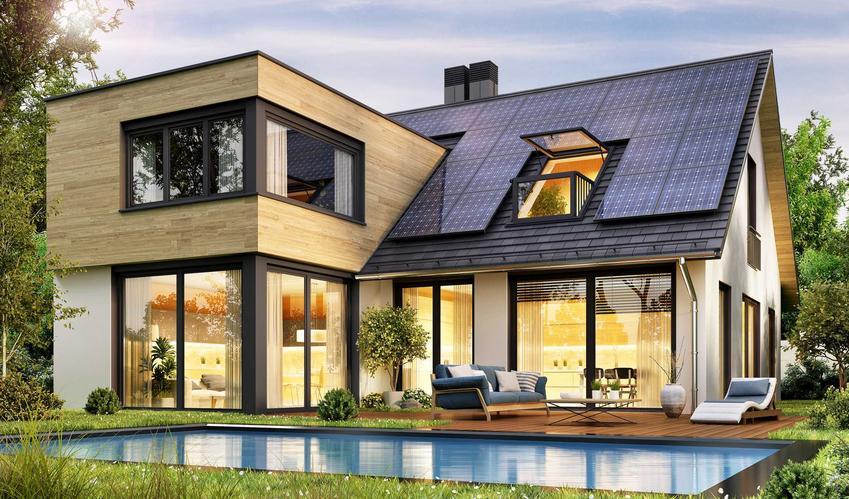 Elewacja drewniana na piętrze i jednobarwna na parterze, a także inne rodzaje nowoczesnej elewacji, wykonanie, cena oraz rodzaje
