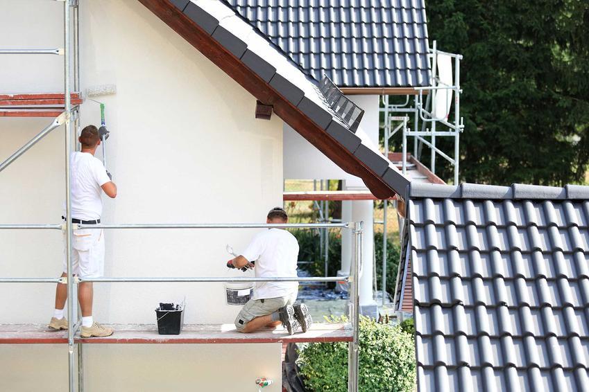 Malowanie elewacji budynku farbą elewacyjną silikonową, a także rodzaje farby, najlepsi producenci oraz opinie