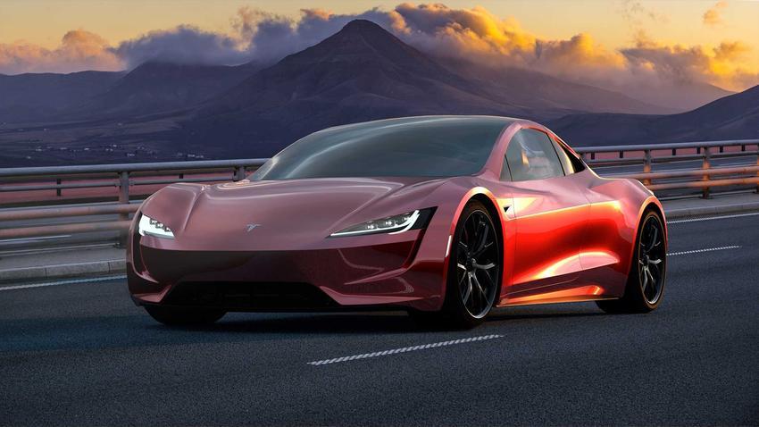Samochód Tesla w trasie, a także ceny Tesli, czyli ile kosztują słynne samochody elektryczne Tesla