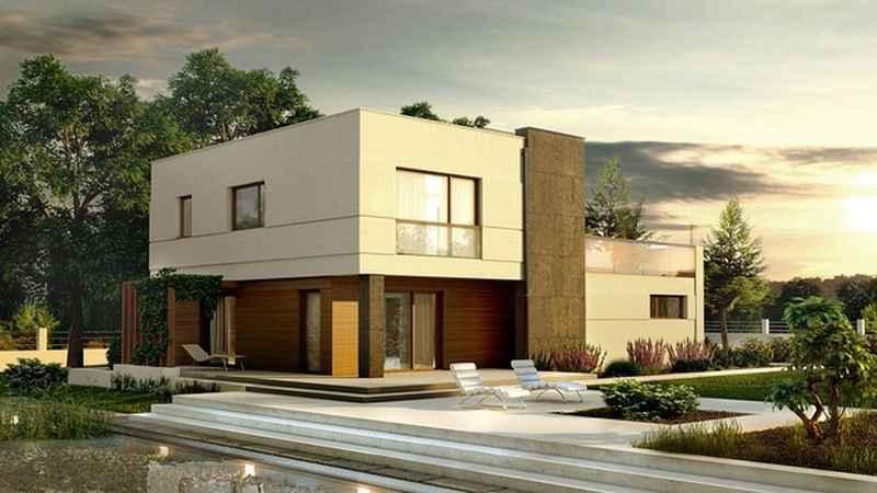 Dom z dachem płaskim, czyli koszt, zastosowanie, gdzie się sprawdzi, ile kosztuje, wady i zalety, rozwiązania wizualne