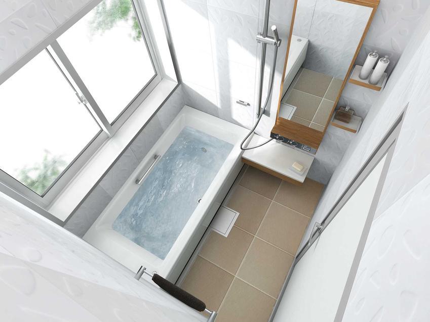 Urządzenie małej łazienki w bloku nie jest trudne - sprzętów jest dużo, a jednocześnie bardzo mało miejsca. Jest kilka tricków na małą łazienkę.