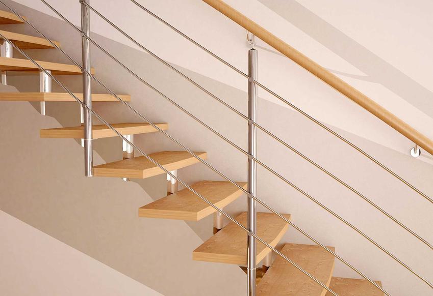 Optymalne wymiary schodów sprawiają, że korzystanie z nich jest wygodniejsze. Drewniane schody o tradycyjnym kształcie są najbardziej popularne