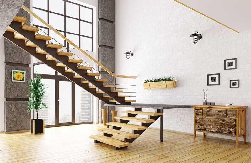 Wymiary schodów są określone w prawie budowalnym, ale jaka szerokość i wysokość schodów są najwygodniejsze? Optymalne wymiary schodów.