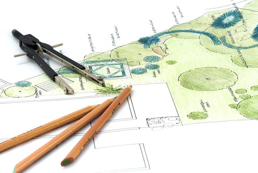 Projekt ogrodu to pierwsza czynność, którą warto rozpocząć przed wykonaniem prac praktycznych i technicznych. Projekt można zamówić u architekta zieleni.