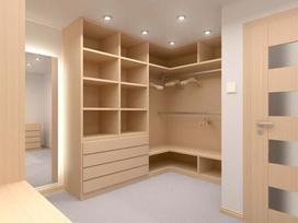 Garderoby na wymiar - ceny, wymiary, możliwości aranżacyjne