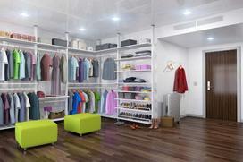 Zabudowa garderoby krok po kroku - projekt, zamówienie, ceny