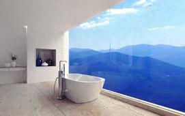 Okna panoramiczne - ceny, rodzaje, wymiary, izolacyjność ciepła, aranżacje