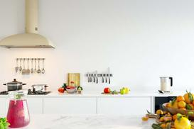Co na ścianę w kuchni zamiast płytek? Najciekawsze propozycje