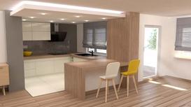 Salon z aneksem kuchennym - porady, pomysły, projekty, aranżacje, inspiracje