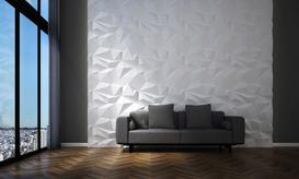 Panele ścienne 3D - rodzaje, ceny, producenci, opinie, inspiracje