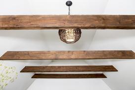 Drewniany sufit w domu - najlepsze aranżacje, opinie, porady