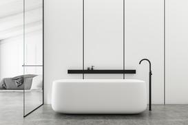 Panele szklane do łazienki - rodzaje, ceny, opinie, porady