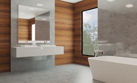 Panele ścienne do łazienki - rodzaje, ceny, opinie, aranżacje