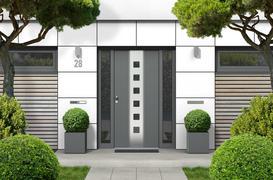 Drzwi zewnętrzne stalowe - modele, sposób montażu, cena, opinie