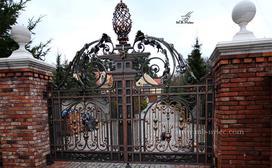 Bramy kute - najpiękniejsze bramy wjazdowe