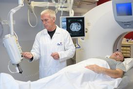 Badanie rezonansem magnetycznym - tętniak głowy
