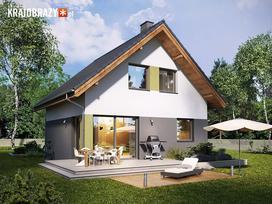 Gotowe projekty domów z poddaszem do 70m2 pow. zabudowy to idealna propozycja dla oszczędnych
