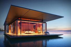 Domy na wodzie - przykłady, projekty, koszty budowy, ciekawostki