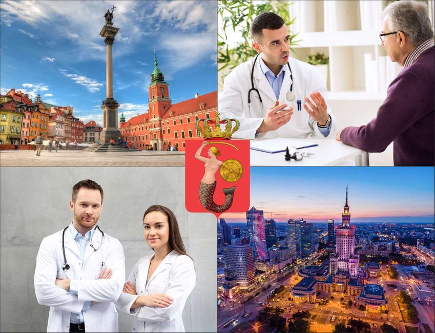 Warszawa - cennik prywatnych wizyt u onkologa - sprawdź lokalne ceny